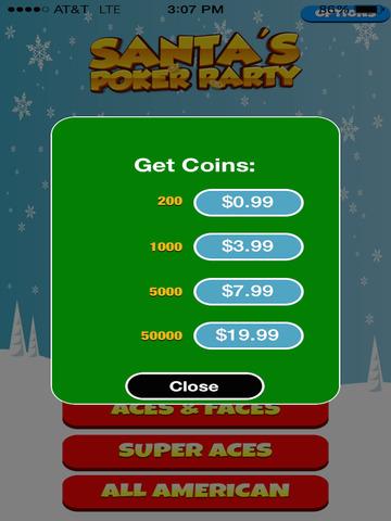 Santa's Poker Party screenshot 10