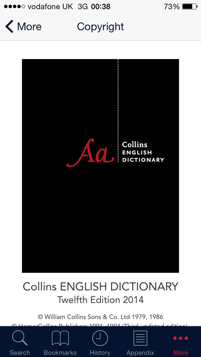 Collins Dictionary+Thesaurus screenshot #5