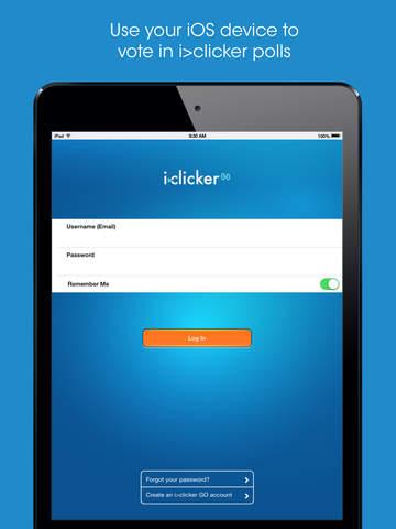 i>clicker GO – Mobile Classroom Clicker screenshot 6