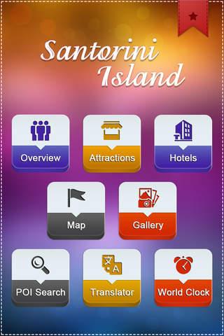 Santorini Island Travel Guide - náhled