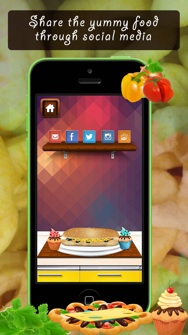 Food Court Game Lite screenshot 5