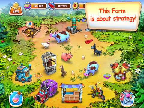 Farm Frenzy Inc. – best farming time-management sim puzzle adventure for you and friends! screenshot 2