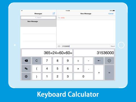 Calculator KeyBoard screenshot 5
