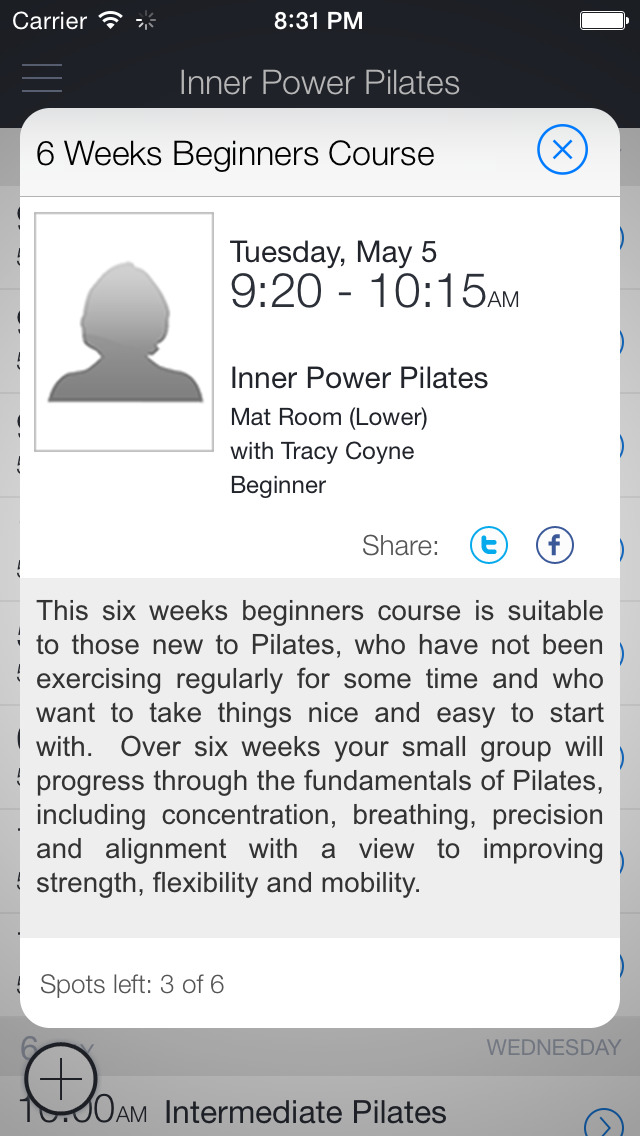 Inner Power Pilates - UK screenshot 2