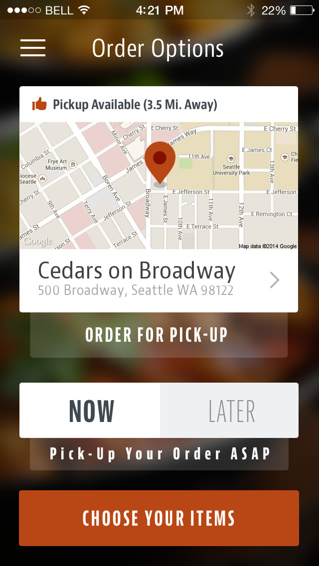 Cedars on Broadway screenshot 1