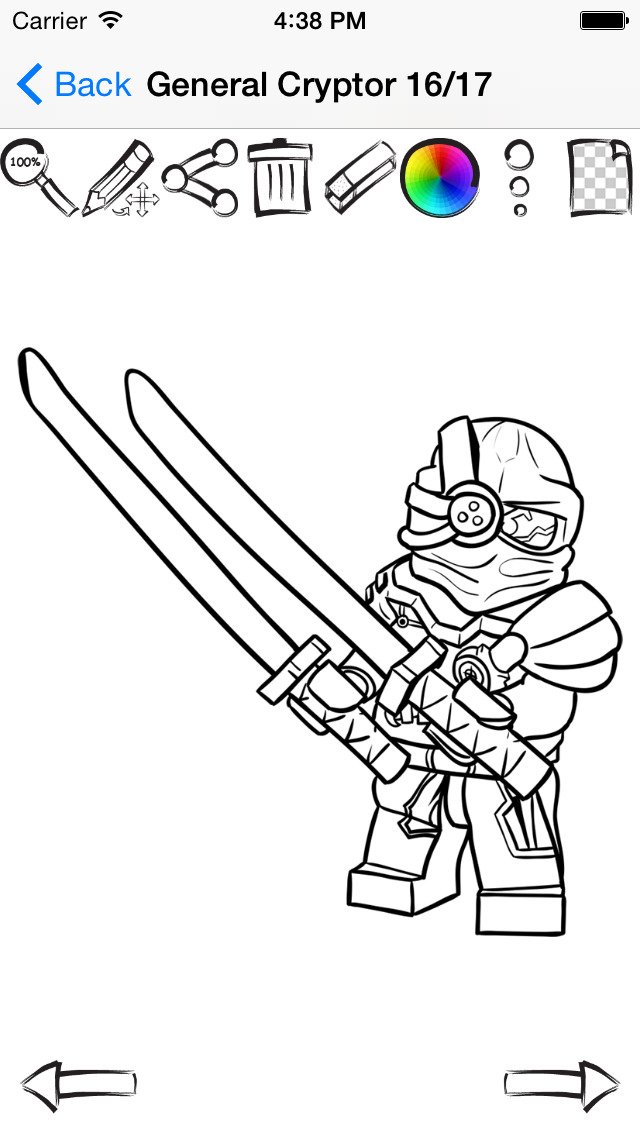 Draw And Paint For Lego Ninjago Apps 148apps