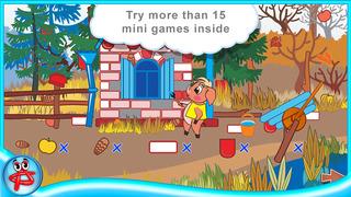 Three Little Pigs: Free Interactive Touch Book screenshot 3