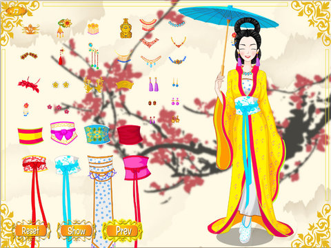 Chinese Ancient Princess screenshot 8