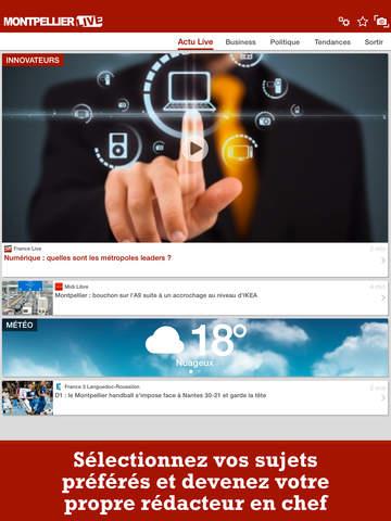 Montpellier Live : Toute l'actu de Montpellier screenshot 7
