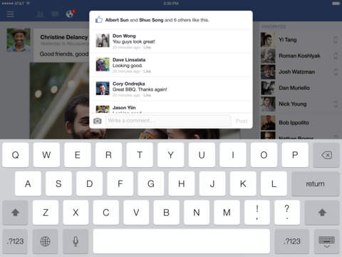Facebook screenshot 8