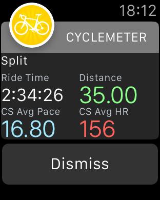 Cyclemeter - Cycling & Running screenshot 14