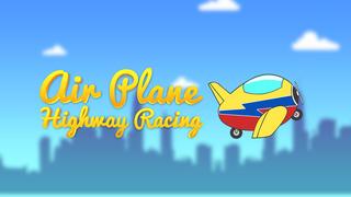 Air Plane Highway Racing - super speed flight race screenshot 1