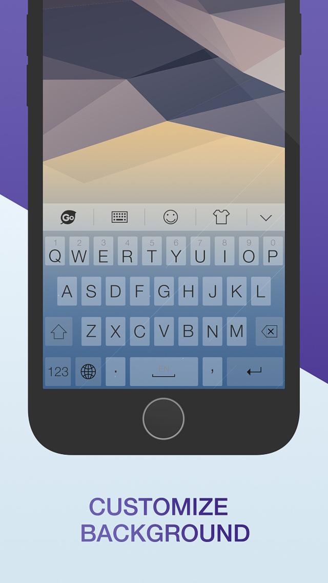 GO Keyboard-Emojis&Cool Themes screenshot 4