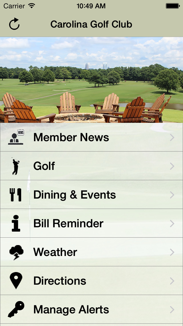 Carolina Golf Club Charlotte screenshot 2