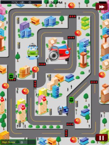 City Traffic Cars HD PRO screenshot 7
