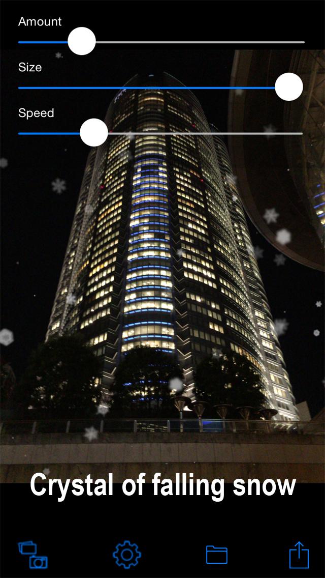 Snowing Camera screenshot 2