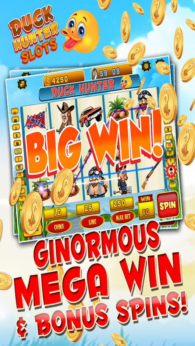 Ace Duck Slots - Get Rich Redneck Casino Slot Machine Games Free screenshot 4