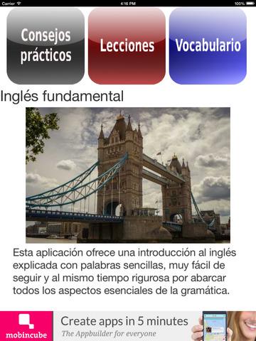 Inglés fundamental screenshot 6