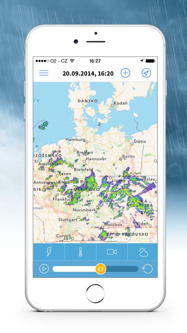 Meteoradar screenshot 5