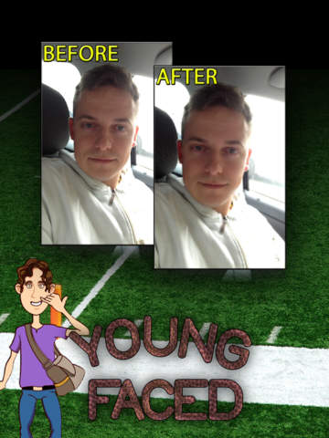 YoungFaced - The Young Face Photo FX Booth screenshot 3