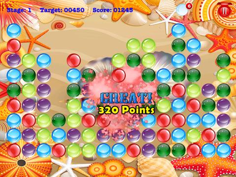 Amazing Bubble Pearls - Blast The Gems Shooting Safari Showdown with Friends screenshot 10