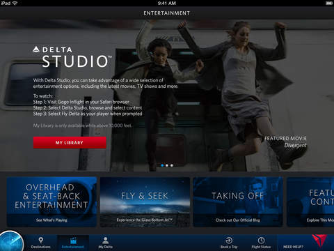 Fly Delta for iPad screenshot 4