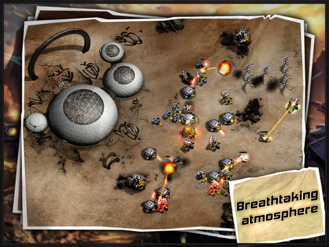 Age of Defenders - Multiplayer Tower Defense and Offense post apocalyptic RTS HD screenshot 5
