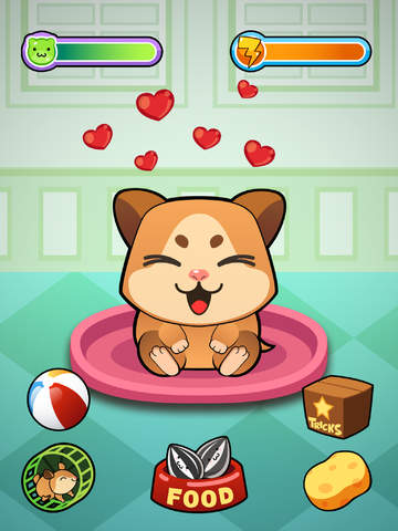 My Virtual Hamster ~ Pet Mouse Game for Kids, Boys and Girls screenshot #1