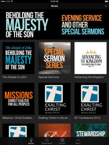 Exalting Christ Ministries screenshot 4