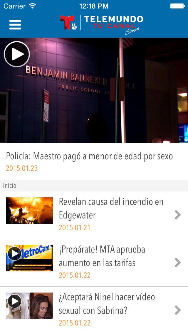Telemundo Puerto Rico screenshot 2