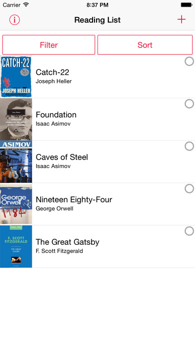 reading list iphone to read reading list on the app 12831