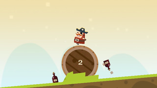 Captain Pirate a Roller Adventure screenshot 3