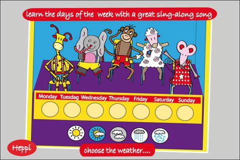 Bo's School Day - FREE Bo the Giraffe App for Todd - náhled