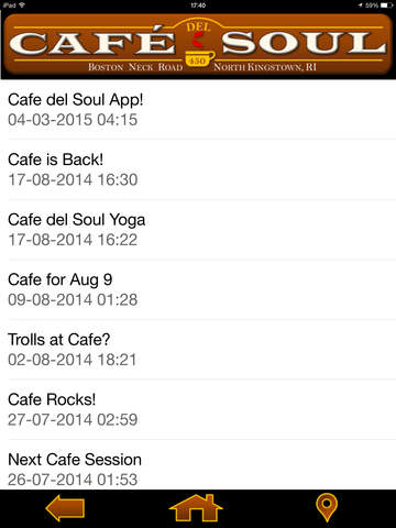 Cafe del Soul - Coffee house-style screenshot 6