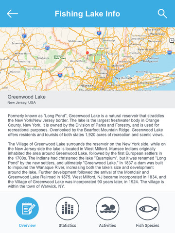 New Jersey Fishing Lakes screenshot 8