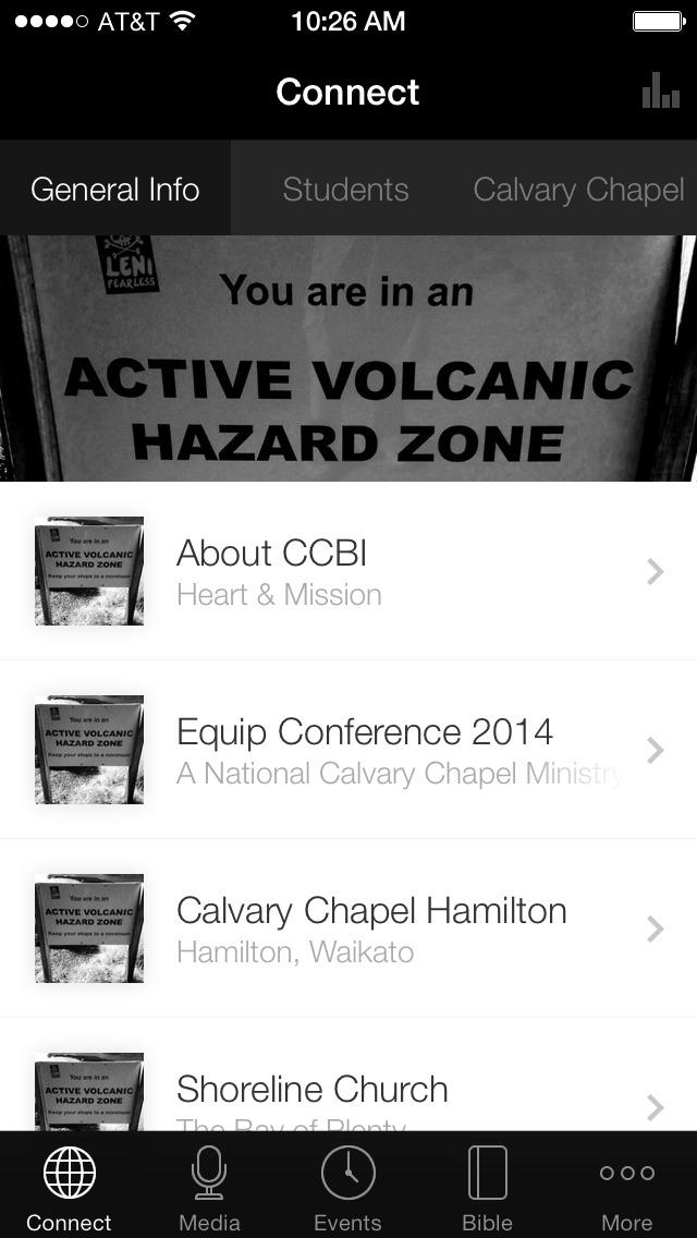 Calvary Chapel Bible Institute screenshot 1