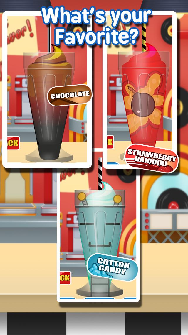 Milkshake Maker Ice Cream Cooking for Kids / Girls screenshot 2