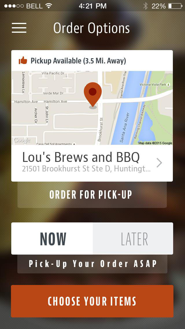 Lou's Brews and BBQ screenshot 2
