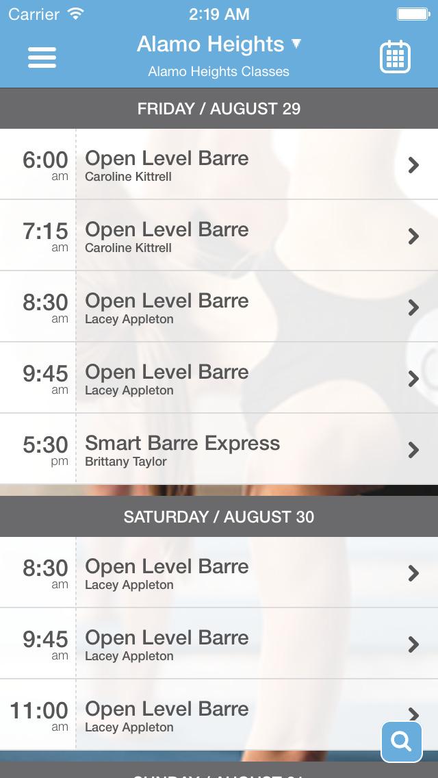 Smart Barre screenshot #2