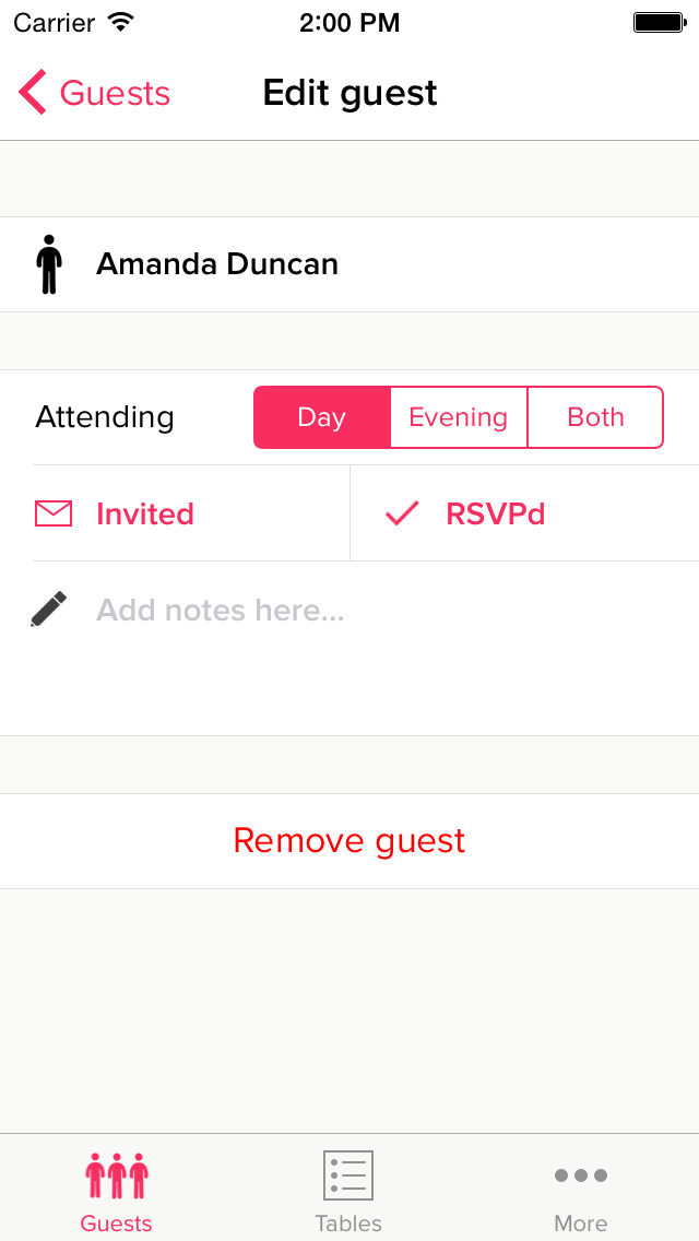 My Wedding Table Planner screenshot 4