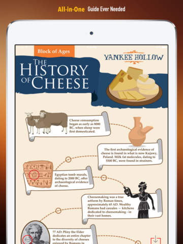 Cheese 101: Quick Study Reference with Video Lessons and Tasting Guide screenshot 7
