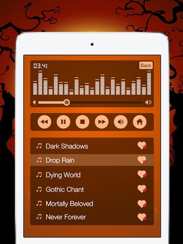 Amazing Scary Halloween Sounds & Spooky Ringtones for iPhone,iPad & iPod screenshot 5