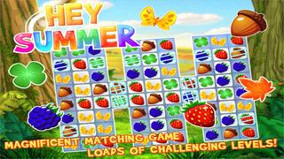 Hey Summer - Magnificent Match-3 Challenge screenshot 1
