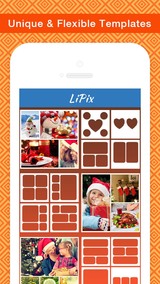 LiPix - Photo Collage, Picture Editor screenshot 2