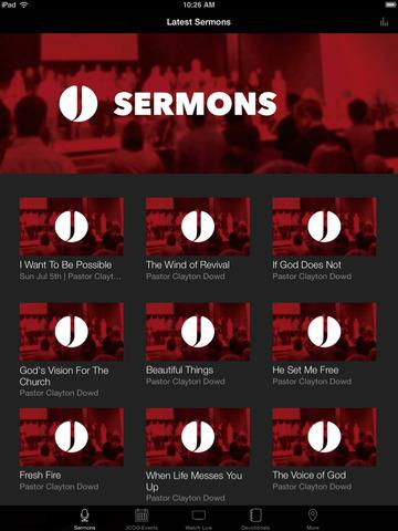 Jesup Church of God screenshot 4