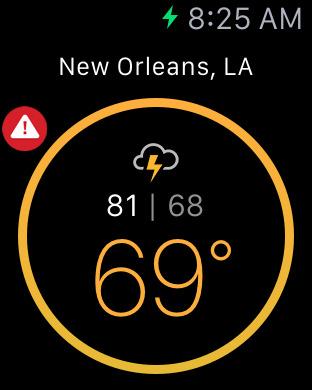 Weather Underground: Local Map screenshot 11