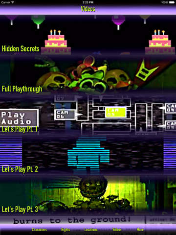 Cheats + Walkthrough for Five Nights at Freddy's 3 screenshot 7