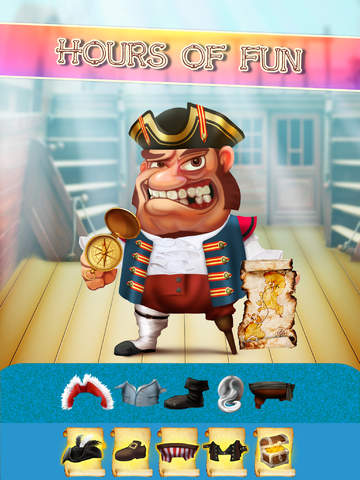 The Super Pirates of Paradise Treasure Island Ship Game For Boys - Free App screenshot 7