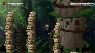Super monkey 3D : The Jump And Fly Adventure In The Jungle screenshot 4