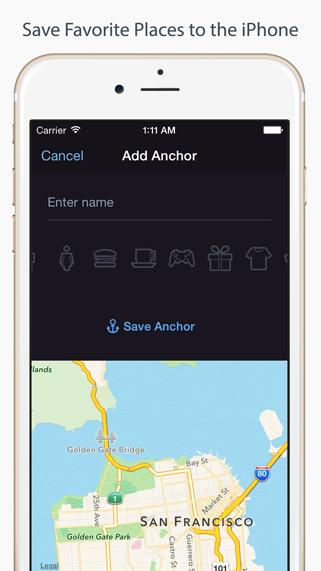 Anchor Pointer: GPS Compass (Find your parked car) screenshot 2